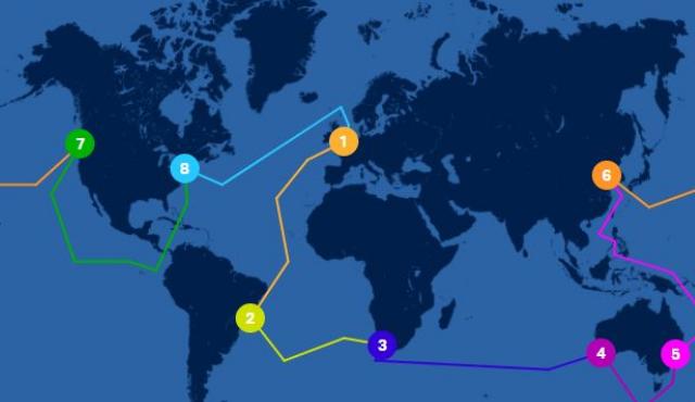 Simon DuBois entreprend le tour du monde en voilier