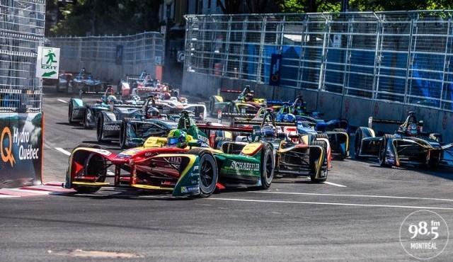 Formule E: la première journée en photos