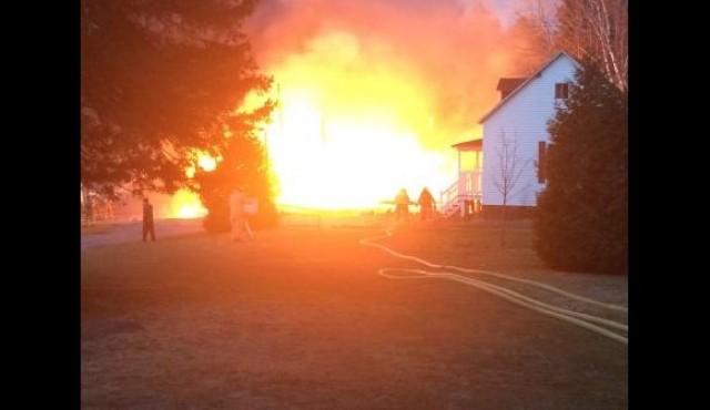 Le camp Bruchési victime d'un incendie : la SQ enquête