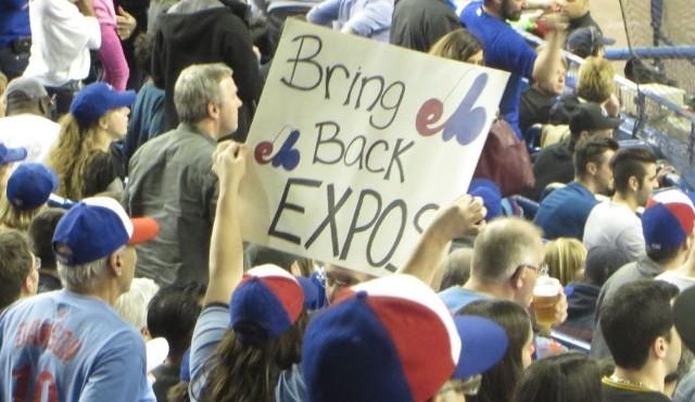 Retour des Expos: les amateurs devront prendre leur mal en patience