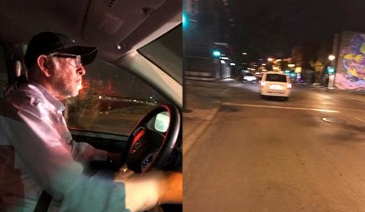 agression chauffeur de taxi