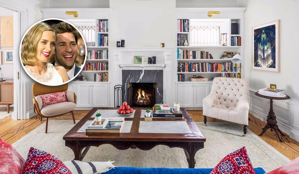 Emily Blunt et John Krasinski vendent une maison new-yorkaise