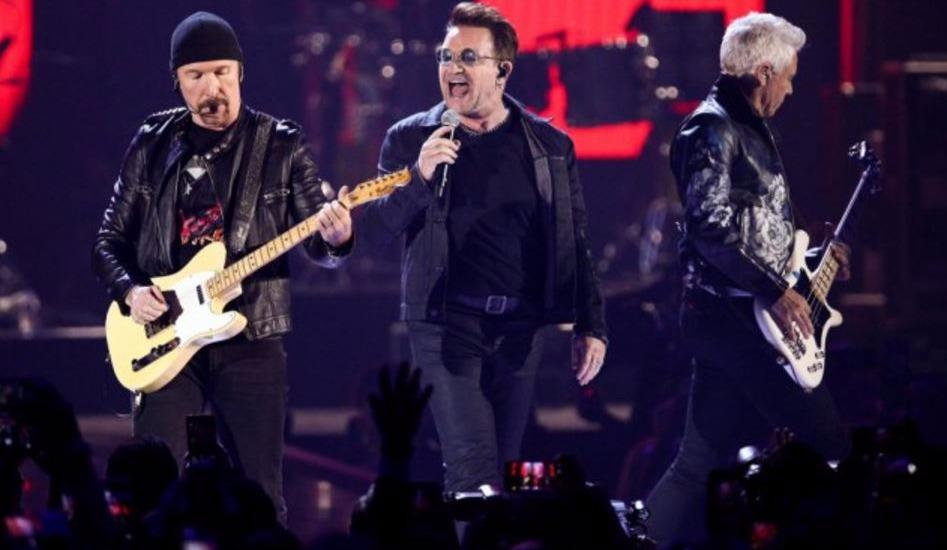 Le groupe U2 à la Place Bell pour répéter sa prochaine tournée