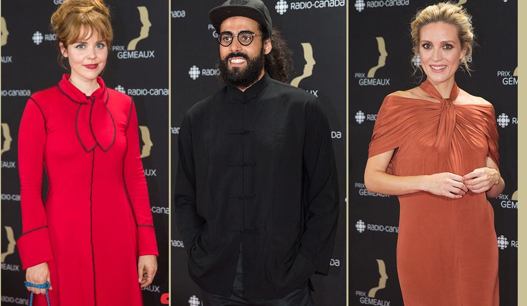 Les photos du tapis rouge du gala des prix Gémeaux