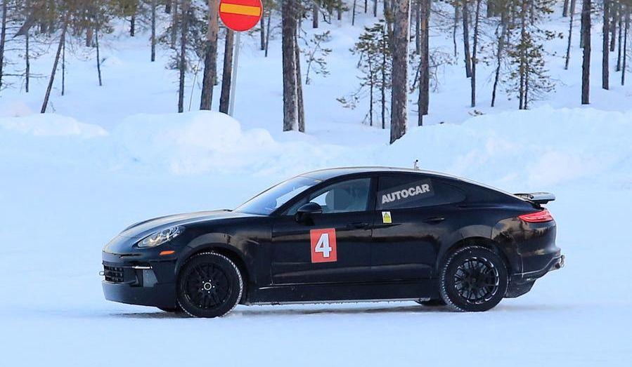 Porsche présente sa rivale à la Tesla modèle S