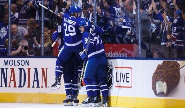 L'attaque des Maple Leafs a le dessus sur celle des Rangers