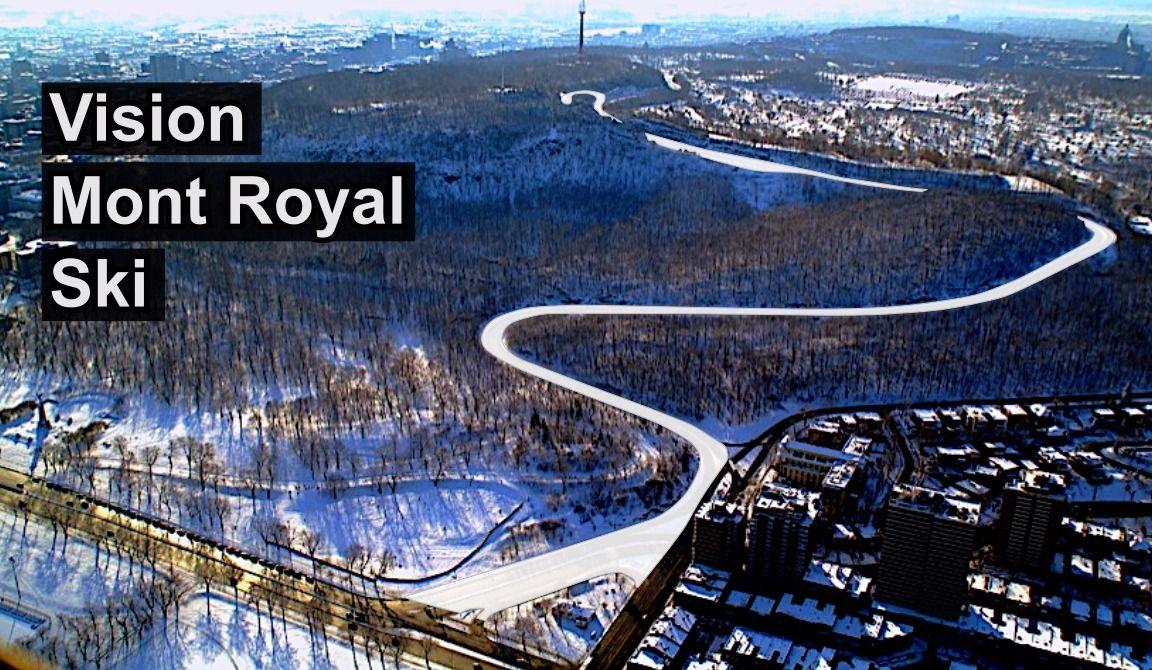 A Ski Hill on Mount Royal?