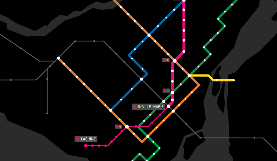 "Projet Montréal wants new ""Pink Line"" for the Metro"