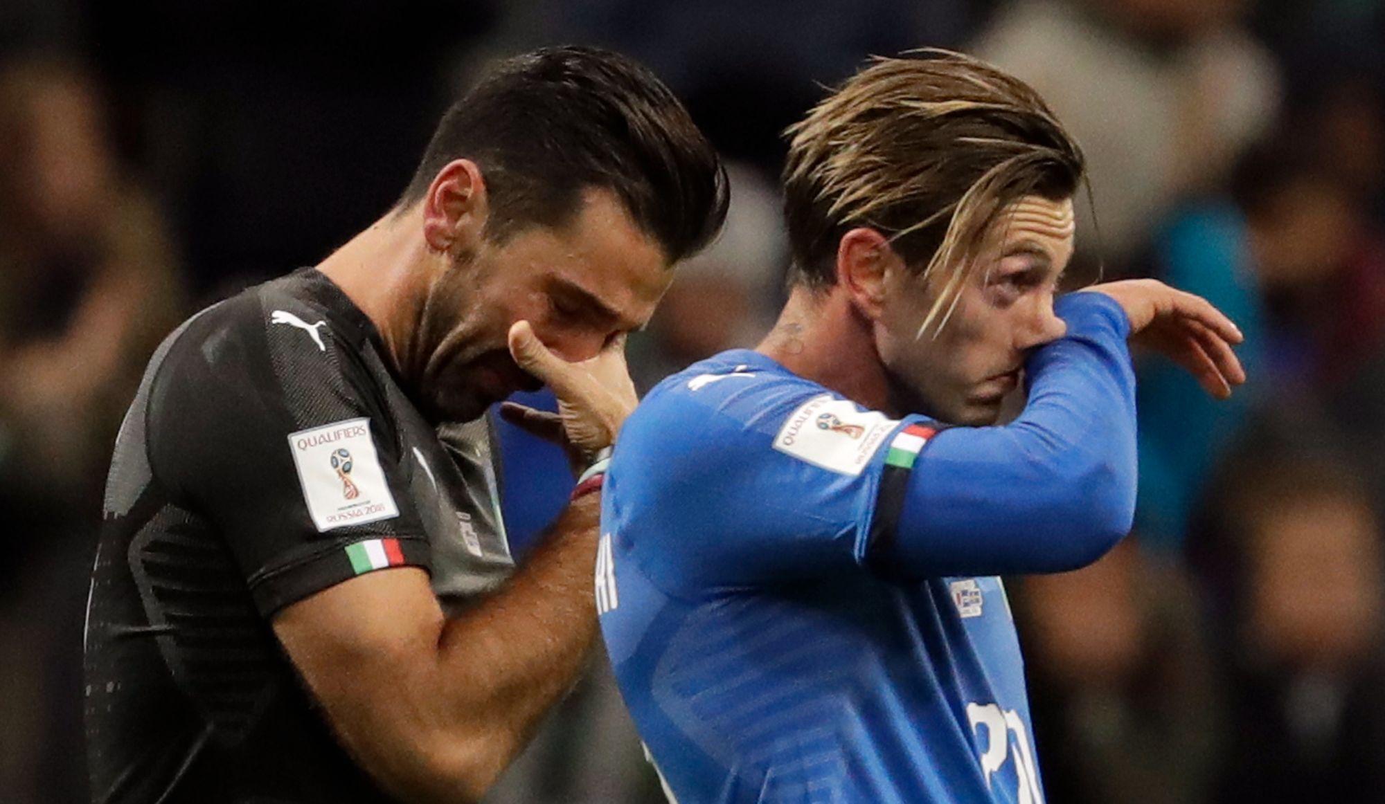 Difficile lendemain de défaite pour l'Italie