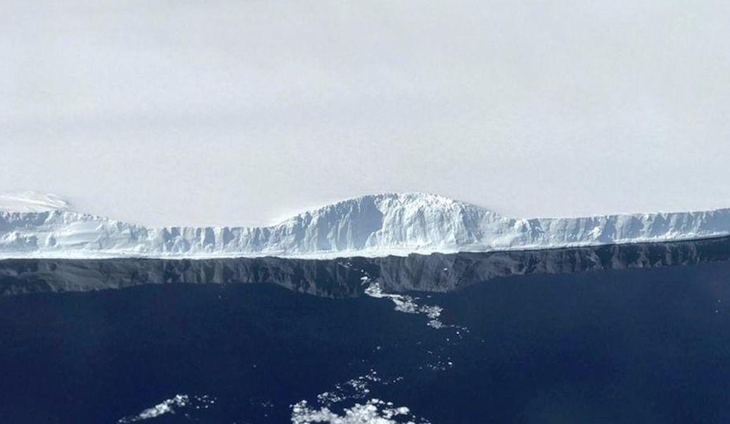 La NASA a publié des images de l'iceberg géant