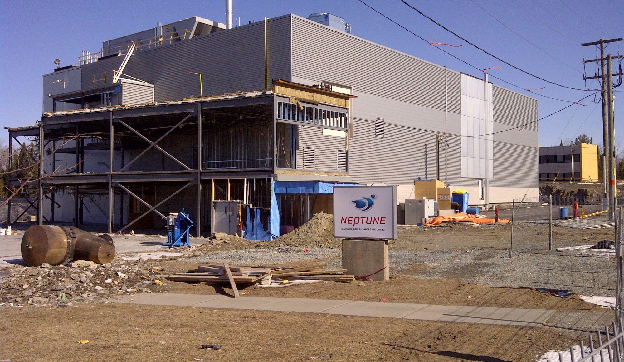 Neptune investit 5 M$ pour convertir son usine