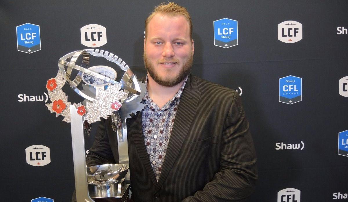 Luc Brodeur-Jourdain honoré par la LCF