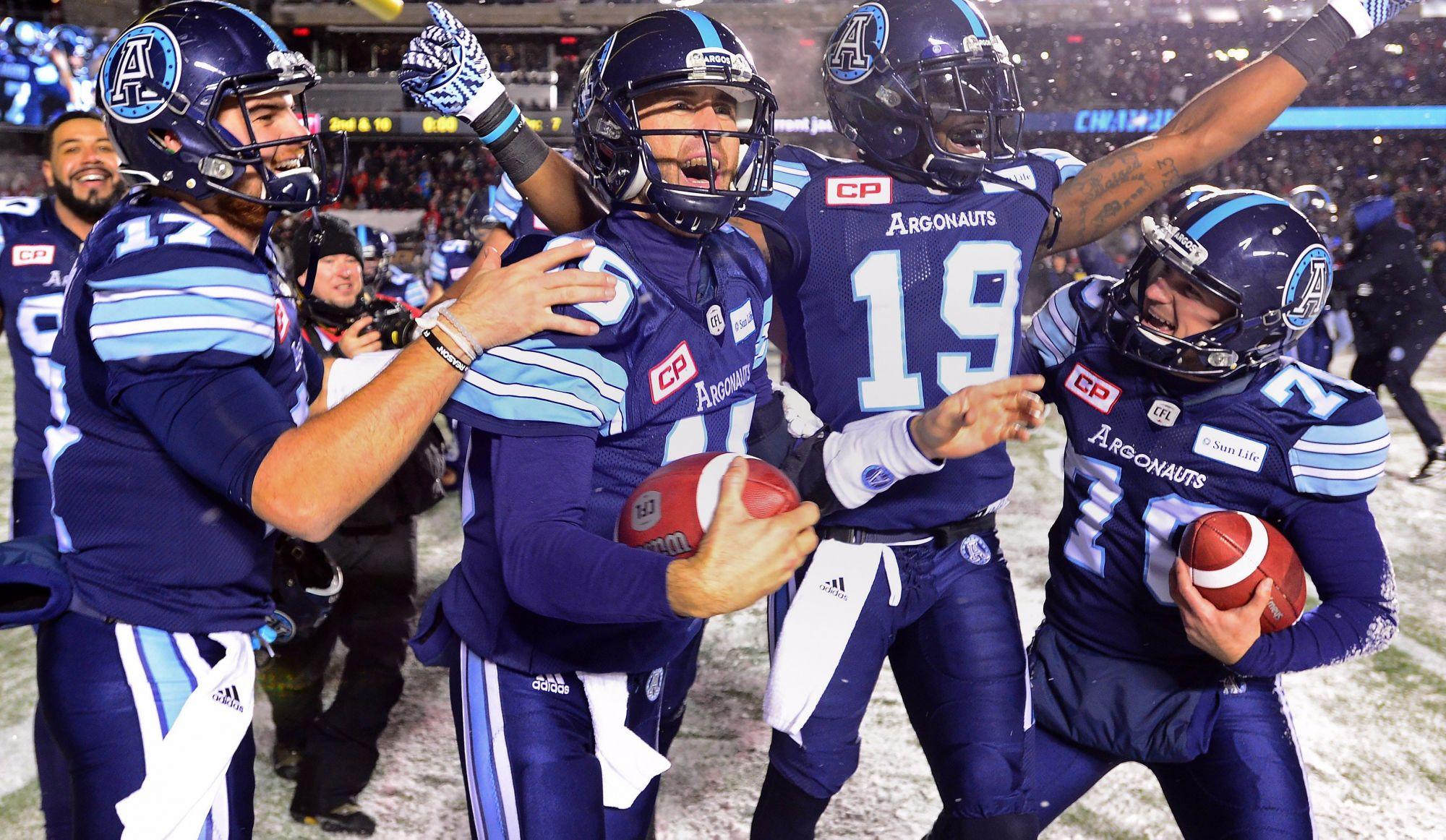Les Argonauts de Toronto remportent la Coupe Grey (vidéo)