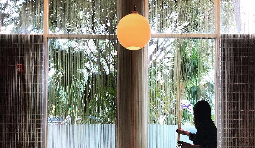 Magalie Lépine-Blondeau se la coule douce à Miami