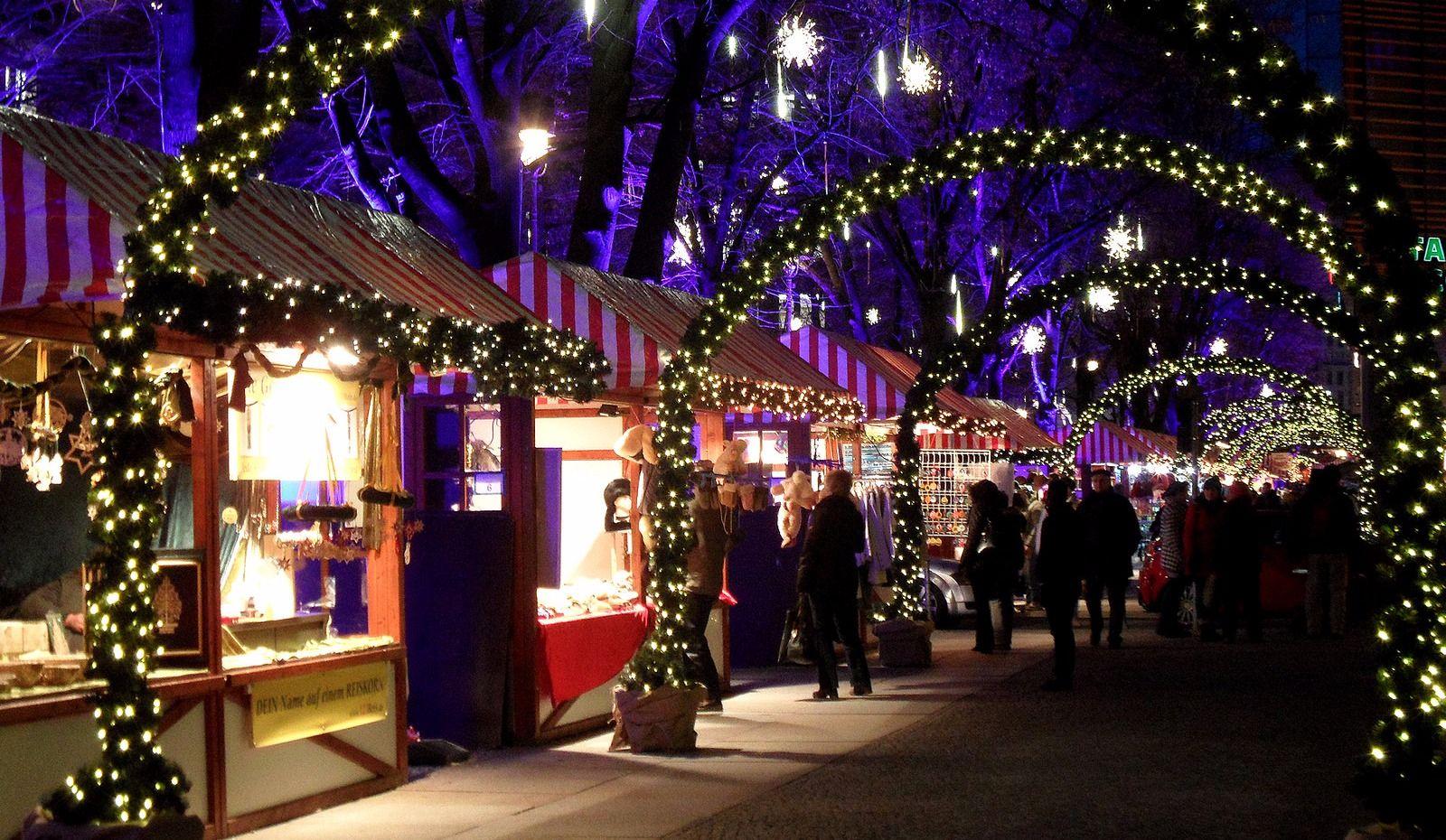 Les 10 plus beaux marchés de Noël au Québec