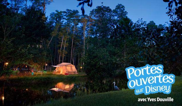 Faire du camping à Disney!