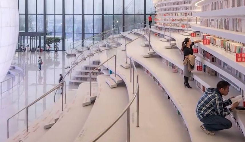 Une bibliothèque de rêve ouvre ses portes!