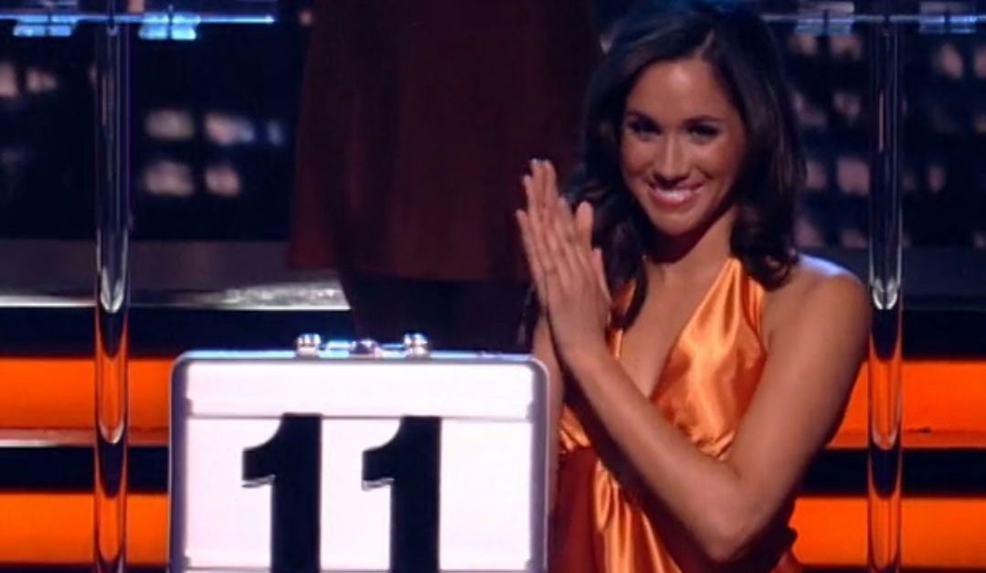 """Meghan Markle used to Model on """"Deal or No Deal"""""""