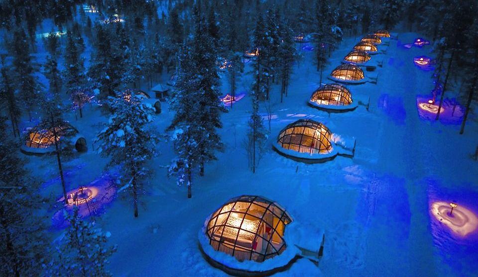 Un hôtel polaire pour séjour de rêve!