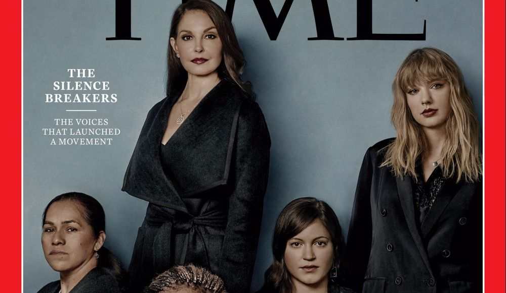 "TIME's Person of the Year is ""The Silence Breakers"""