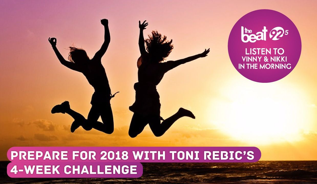 Prepare for 2018 with Toni Rebic's 4-Week Challenge