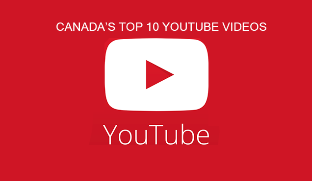 Canada's Top 10 YouTube Videos