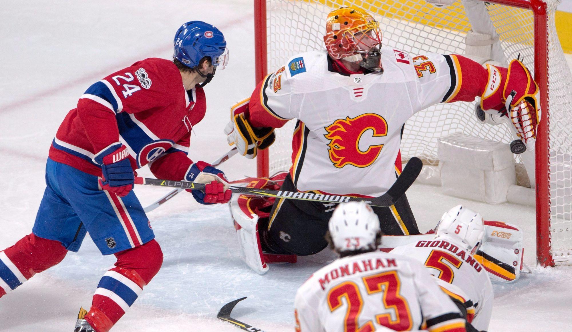 Les Flames battent les Canadiens 3-2 en prolongation (vidéos)