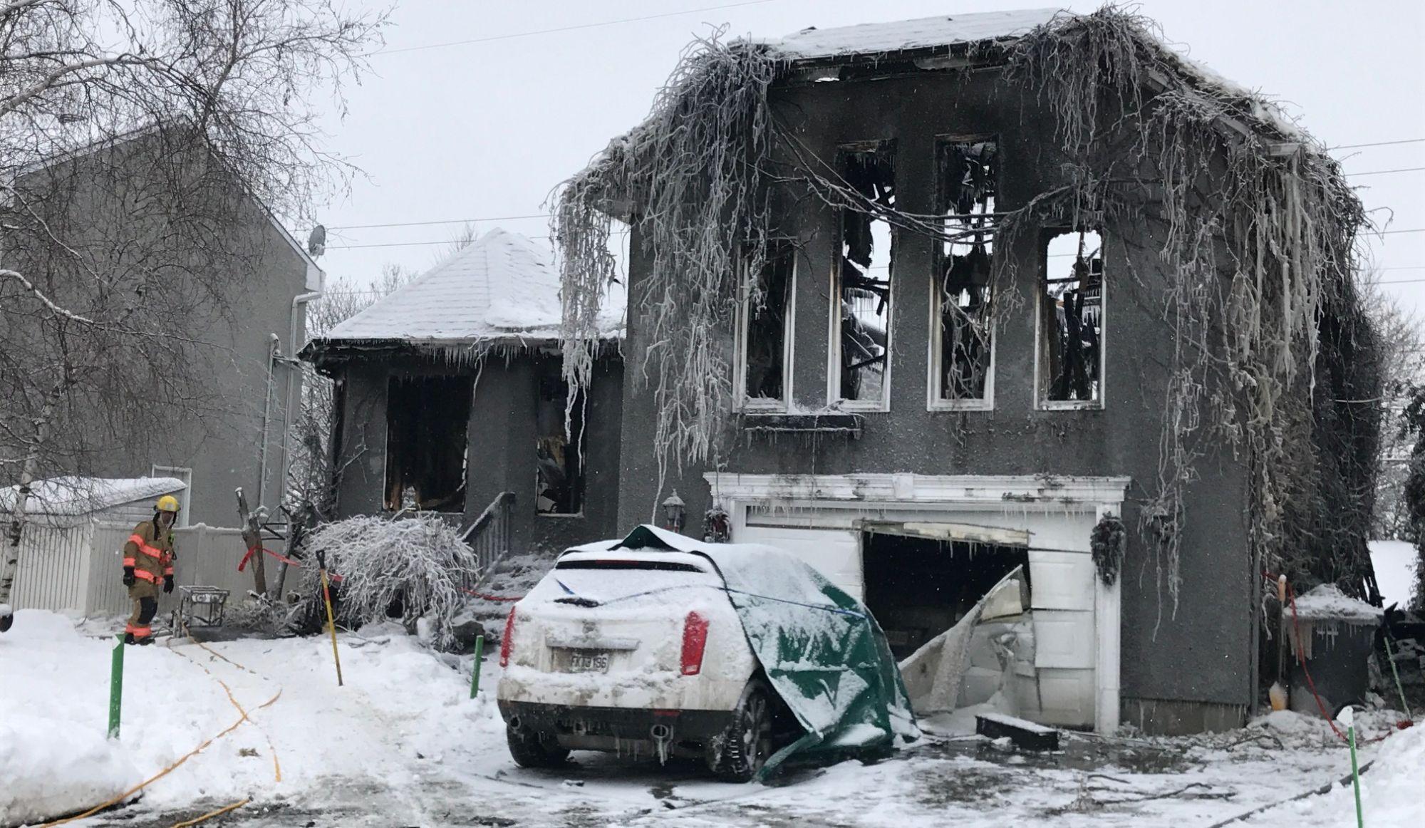 Boisbriand : un cadavre a étéretrouvé après un incendie