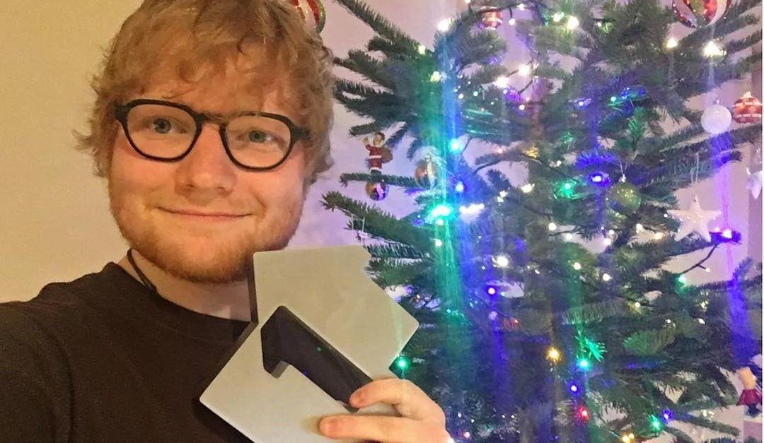 Ed Sheeran is the lead artist of 2017