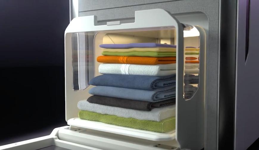 Foldimate: une machine qui plie votre linge