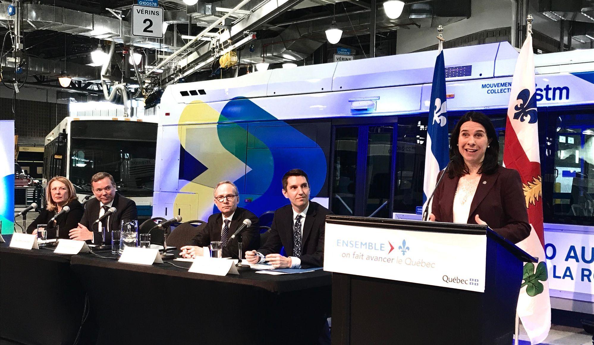 Un appel d'offres pour 300 autobus hybrides