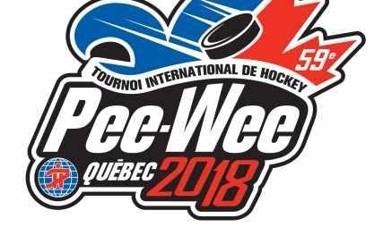 Sept Estriennes au Tournoi Pee-Wee de Québec.