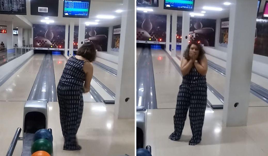 Pire joueuse de bowling de la Terre