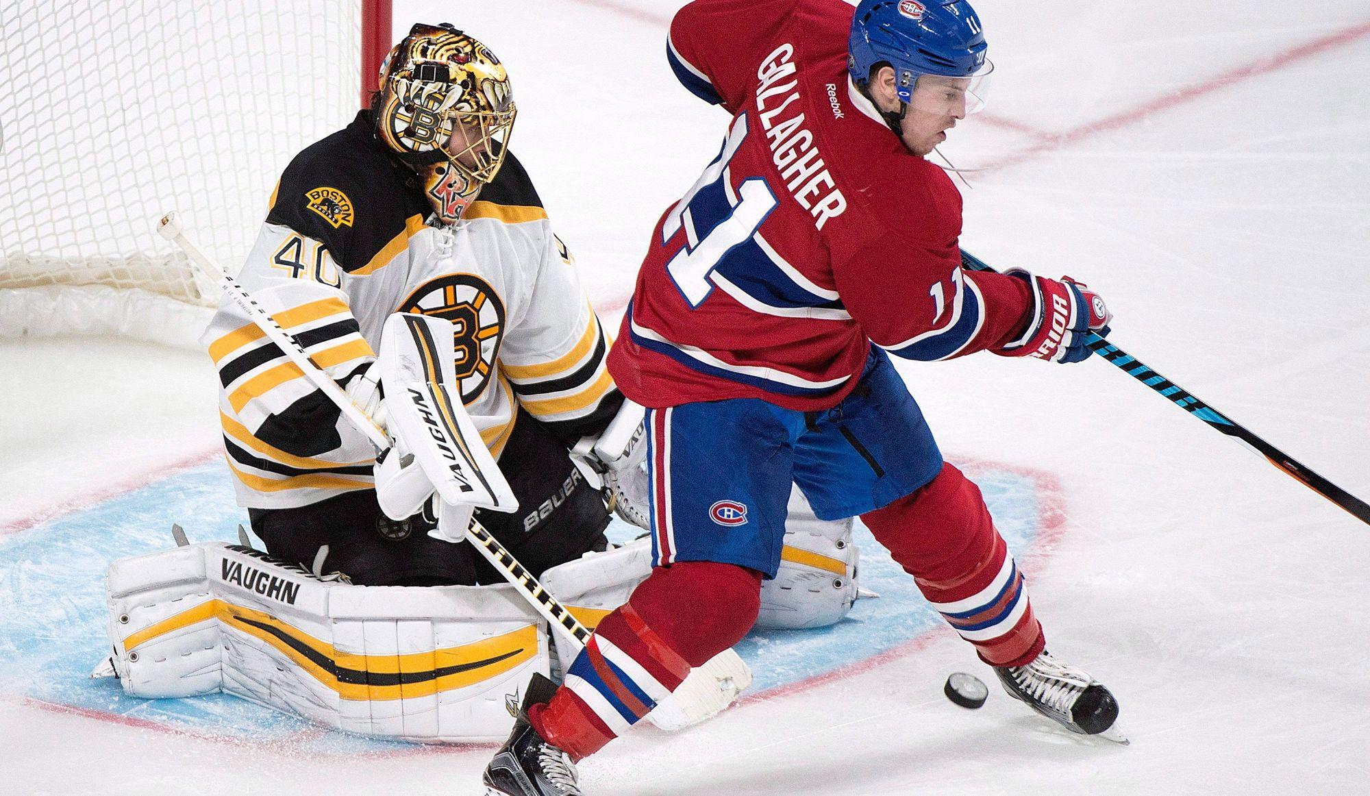 Les Canadiens se frotteront aux Bruins ce soir