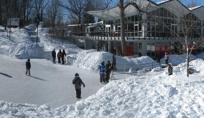 Les patinoires montréalaises