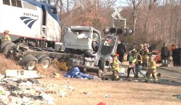 Accident de train impliquant des élus républicains