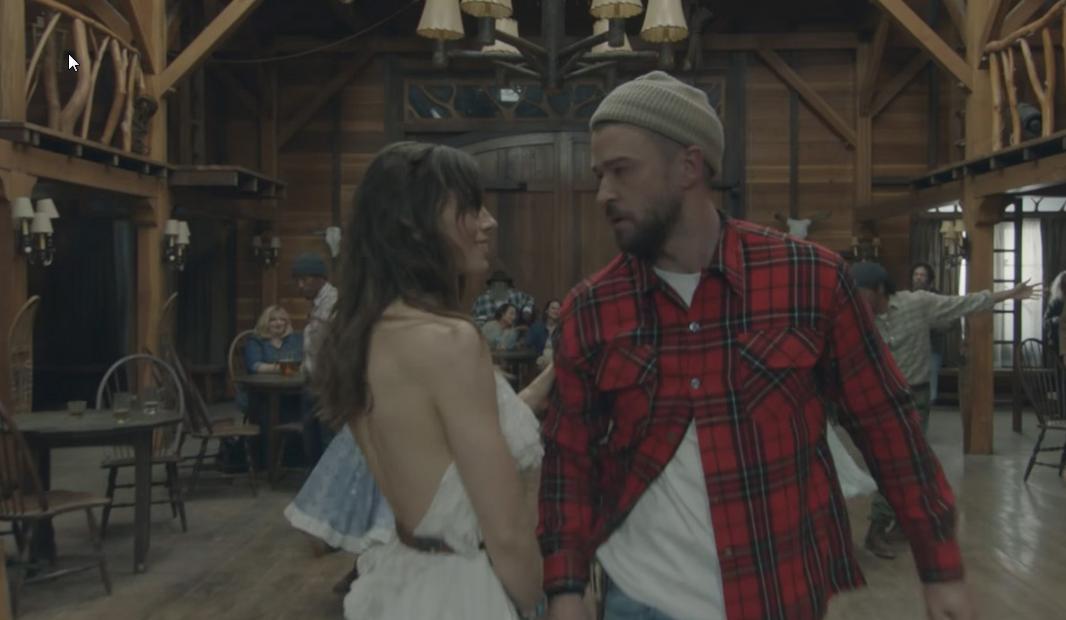 Justin Timberlake : un nouveau vidéoclip avec sa femme!
