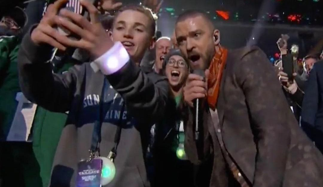 'SelfieKid' reflects on crazy moment during Justin Timberlake's Super Bowl Set