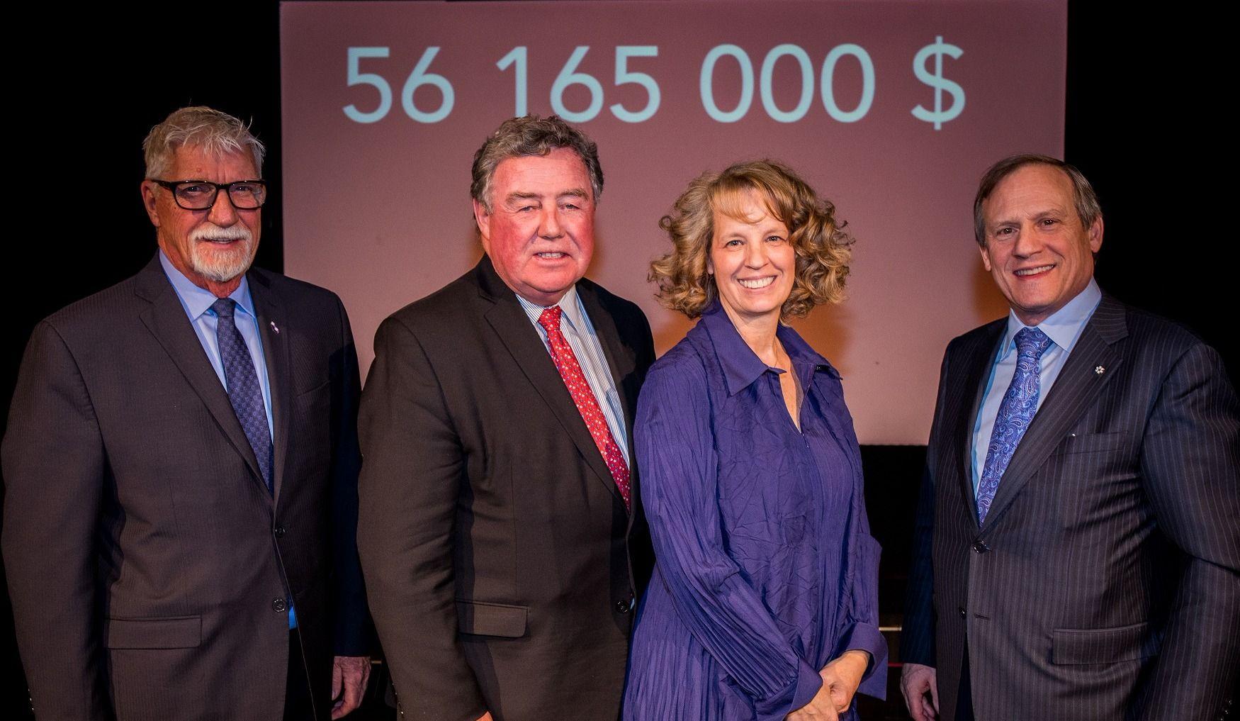 56 M$ pour la campagne annuelle de Centraide à Montréal