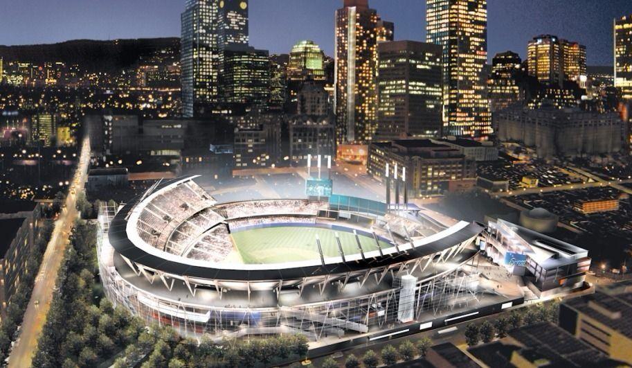 Le stade des Expos au bassin Peel, toujours possible selon la mairesse