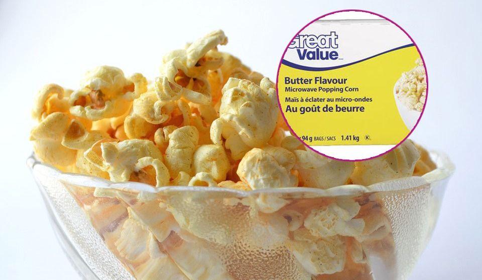 Great Value Popcorn Recalled for Bug Infestation