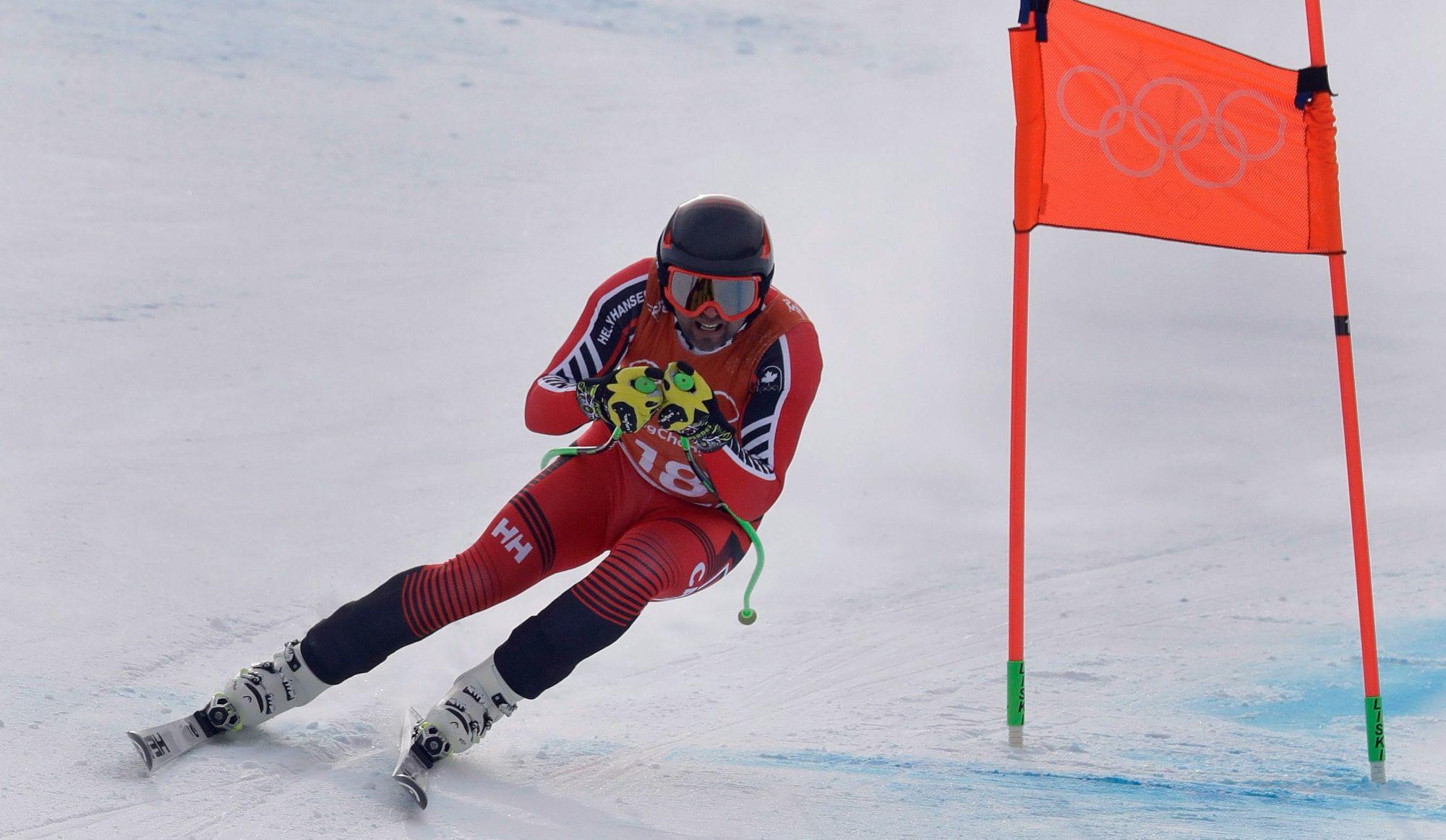 La descente masculine aux Jeux de Pyeongchang est reportée à jeudi
