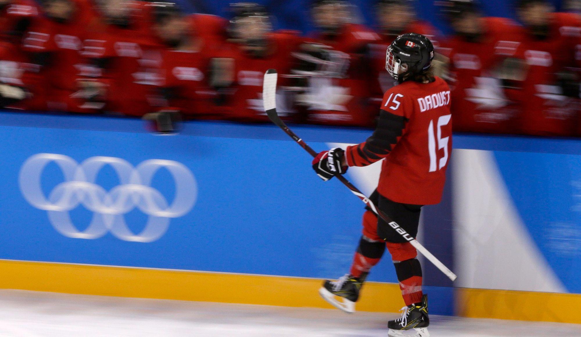 Hockey féminin: les Canadiennes sont sans pitié