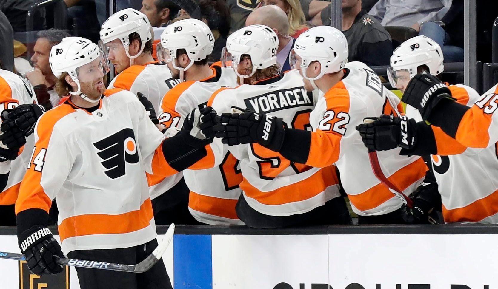 Les Flyers infligent une rare défaite aux Golden Knights (vidéo)