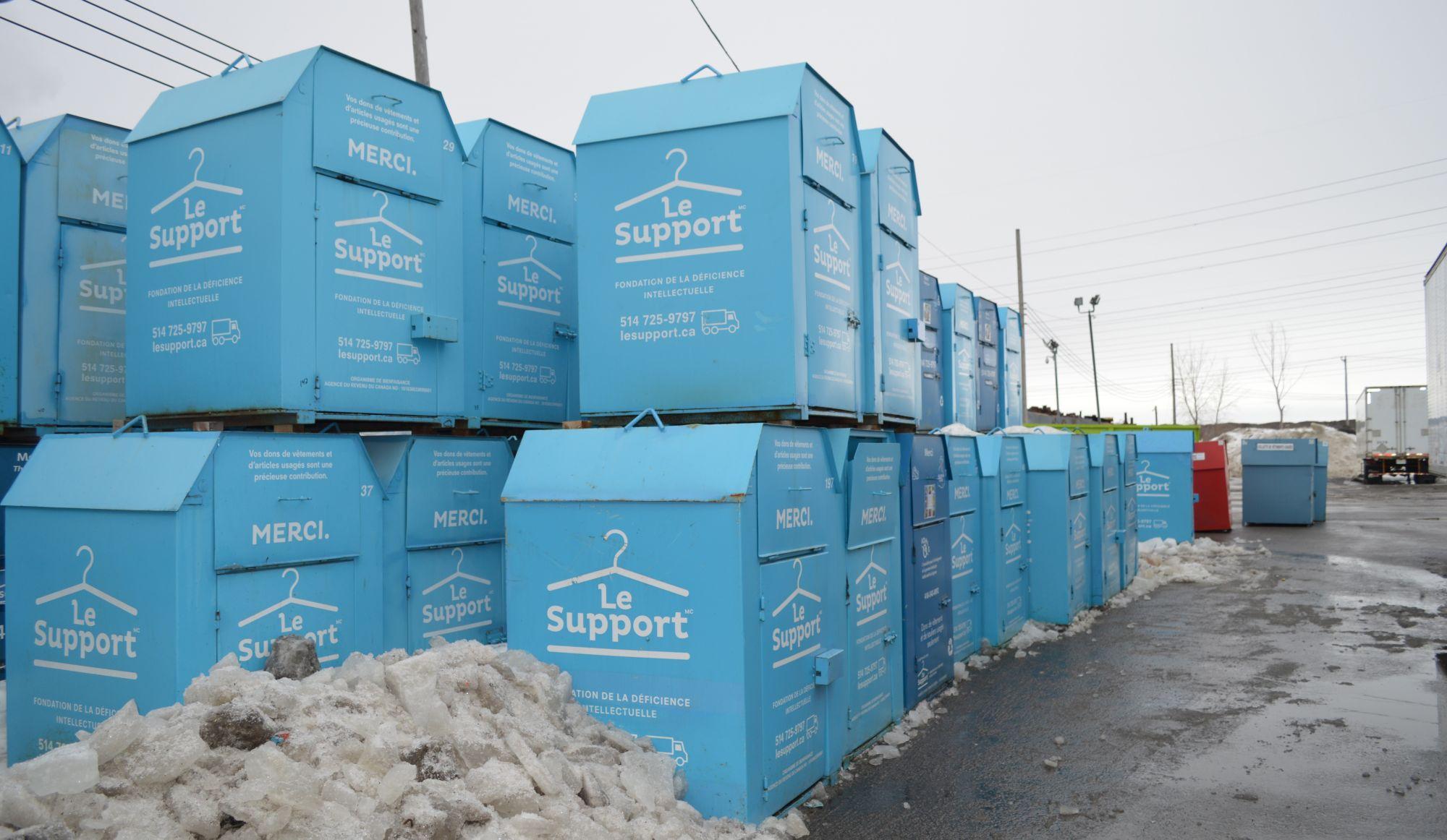 Rendez-vous de l'info : disparition des boîtes de dons caritatives