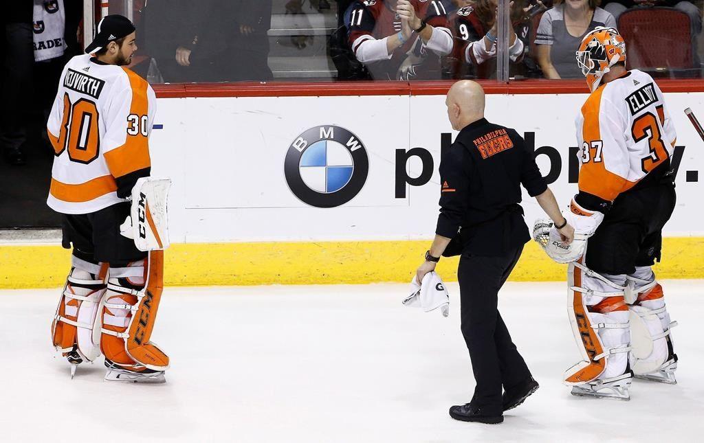 Flyers: le gardien Brian Elliott sera absent de cinq à six semaines
