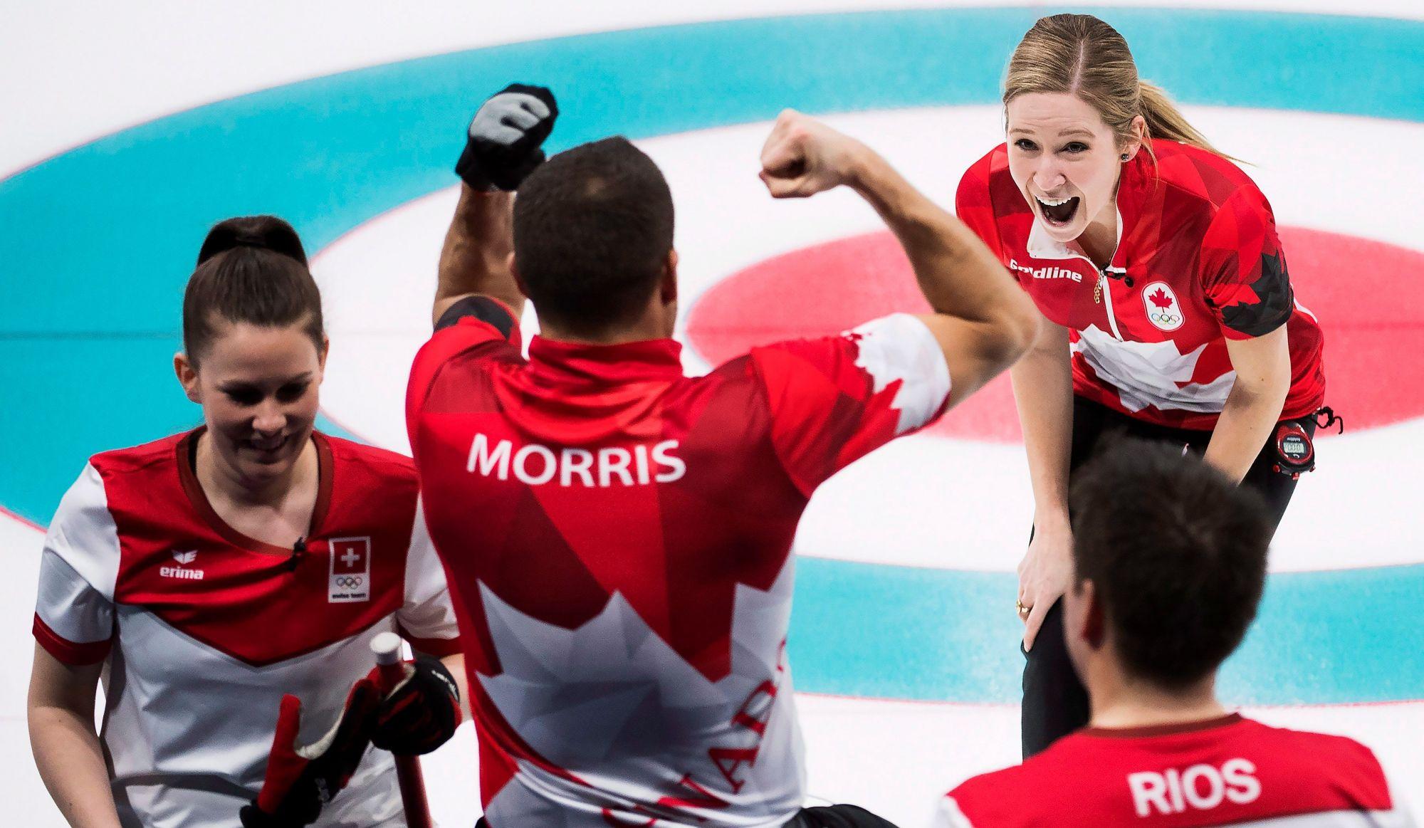 Curling mixte: le Canada en or !