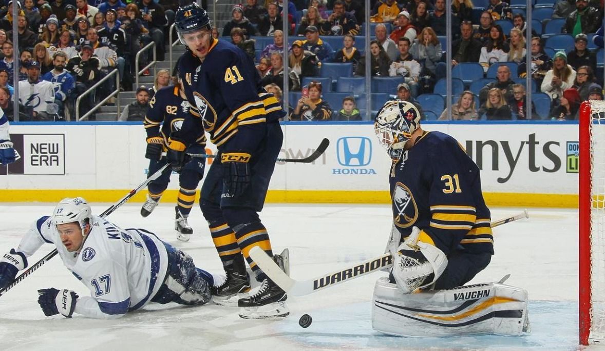 Trois points de Ryan O'Reilly font gagner les Sabres, 5-3 contre le Lightning