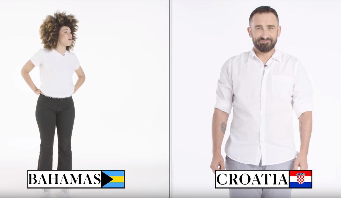 Comment on éternue, dans 70 pays différents