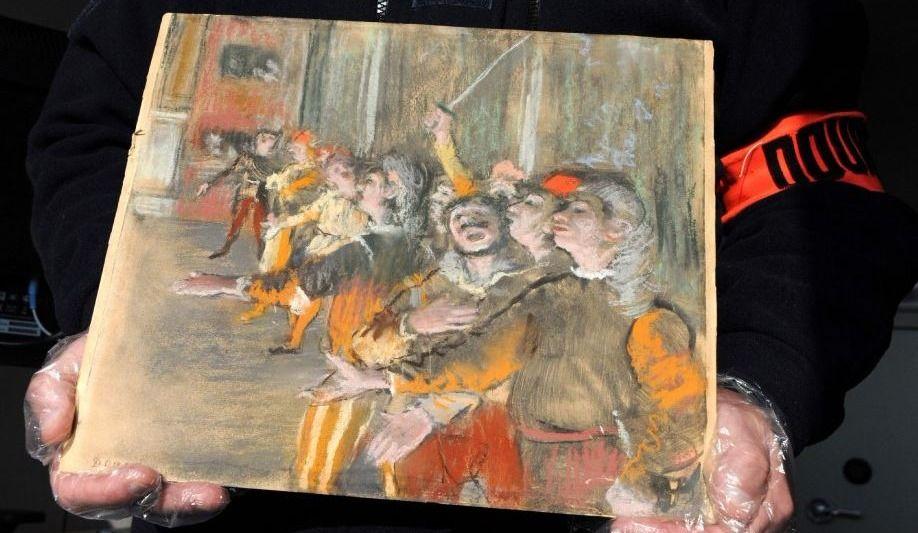 Un tableau volé de Degas retrouvé dans un autobus